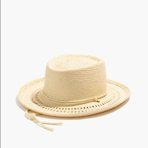Madewell Accessories - Biltmore for Madewell curved brim straw hat